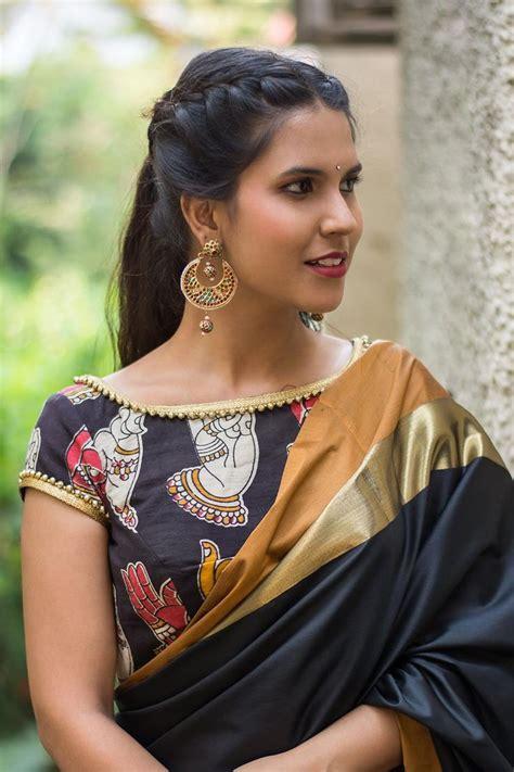 black saree blouse the 25 best blouse designs ideas on saree