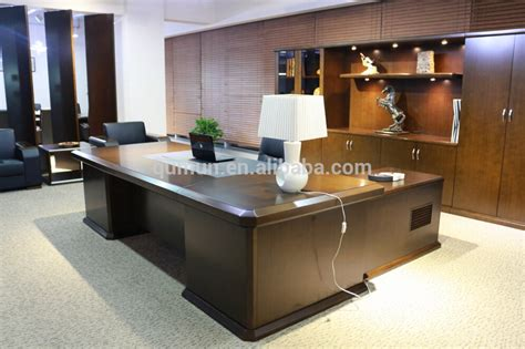bureau high big office desk large executive deskhigh end desk luxury