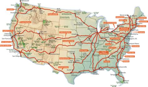 Amtrak's Long-distance Routes Are In