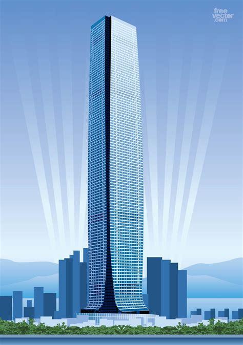 hong kong skyscraper vector art graphics freevectorcom