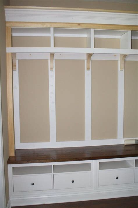 how to build a mudroom bench with cubbies mudroom bench with storage treenovation