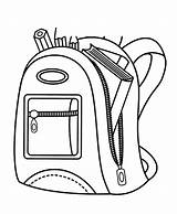 Backpack Coloring Pencil Pages Contain Case Sheet Inspirational Utilising Button Paper Directly Grab Feel Could Tocolor sketch template
