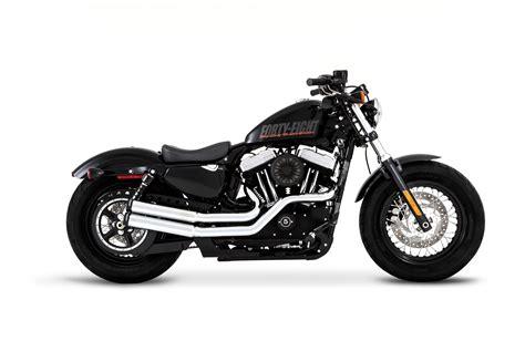 Rinehart Fast Tracks Exhaust For Harley Sportster 2004