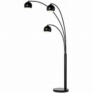 pacific coast lightingr crosstown 3 light arc floor lamp With crosstown 3 light arc floor lamp