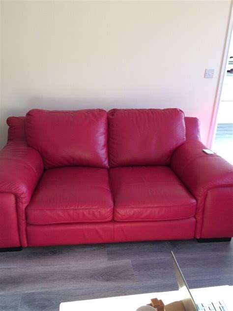 Pink Leather Sofa Set by Pink Leather Sofas Chesterfield 3 Seater Sofa Settee