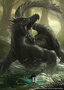 Dragon Chronicles - Swamp Serpent by RobertCrescenzio on ...