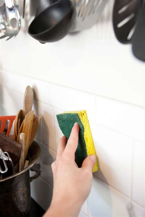 clean greasy walls backsplashes  cabinets kitchn