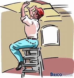 Fissure Au Plafond : petite fissure sur plafond qui revient enduire avec ~ Premium-room.com Idées de Décoration