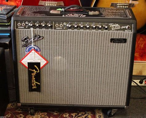 Fender Usa '65 Twin Custom 15 Twin Reverb Amp Amplifier 85