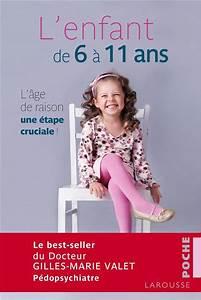 l'enfant de 6 à 11 ans Valet Gilles Marie Occasion Livre