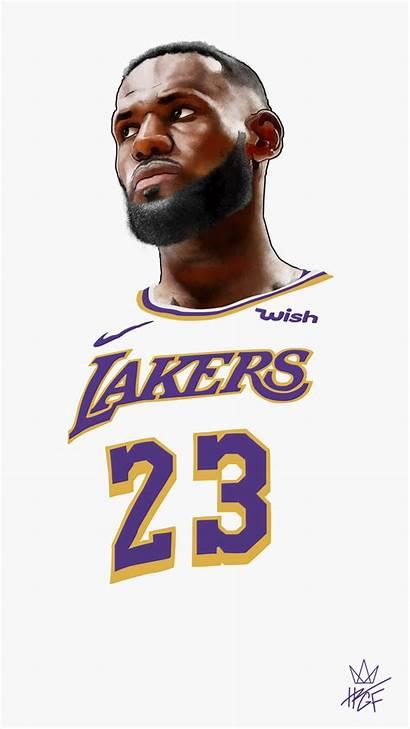 James Lebron Lakers Wallpapers King Behance Drawing