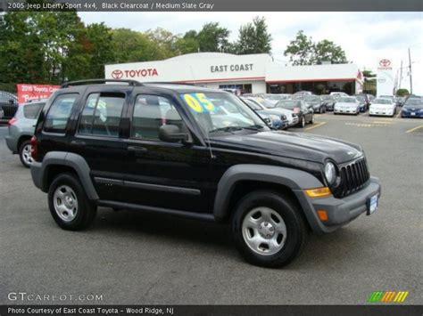 black jeep liberty interior 2005 jeep liberty sport 4x4 in black clearcoat photo no