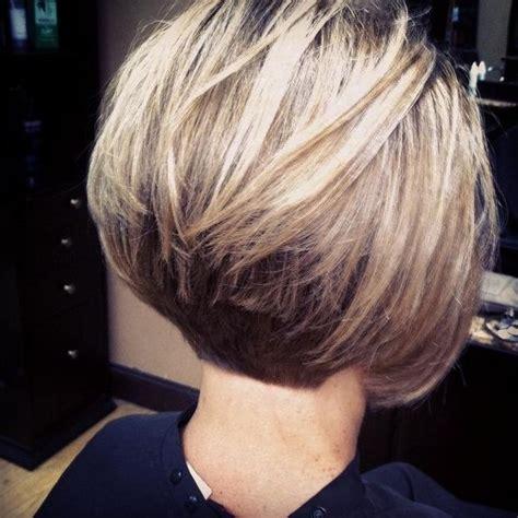 2019 latest short stacked bob haircuts with bangs