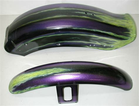 Harley-davidson Softail Custom Paint Motorcycle Fender Set