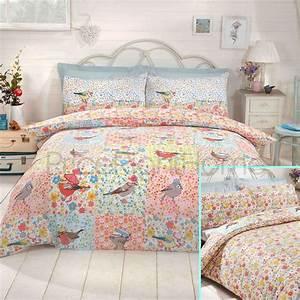 King Size Bettwäsche : einzelbett doppelbett kingsize bettbezug set bettw sche einhorn v gel ebay ~ Watch28wear.com Haus und Dekorationen