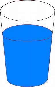 Cup Of Blue Water Clip Art at Clker.com - vector clip art ...