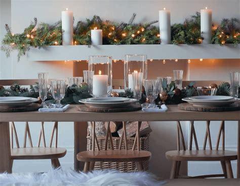 tavola a natale decorazioni apparecchiare la tavola di natale