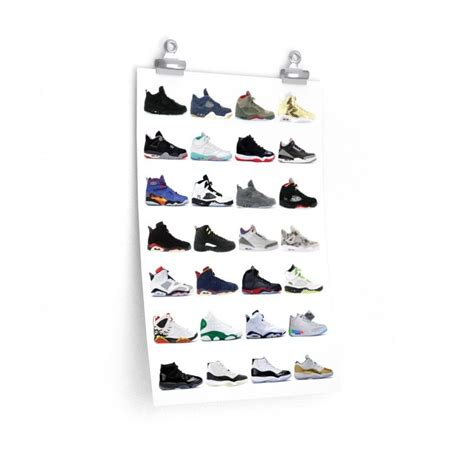 A wide variety of wall decor jordan options are available to you, such as material, commercial buyer, and occasion. Nike Air Jordans Hall of Fame Poster - Michael Jordan Wall Art | Nike air jordans, Wall art ...