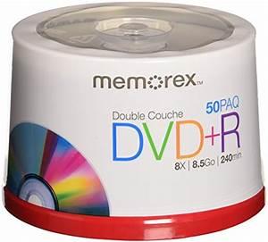 Double Layer Dvd : memorex 8 5 gb 8 x double layer dvd r 50 pack spindle in ~ Kayakingforconservation.com Haus und Dekorationen
