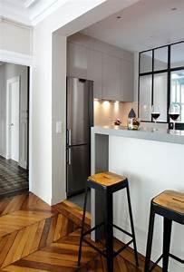 Bar Cuisine Ouverte : cuisine avec bar atelier ouverte 12 cuisines con ues ~ Melissatoandfro.com Idées de Décoration