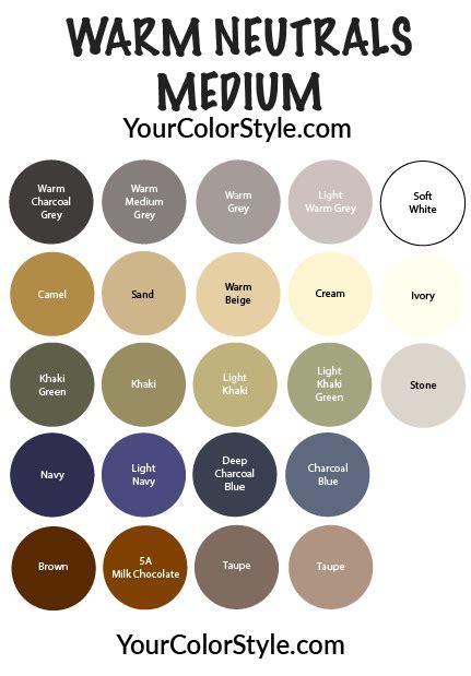 Medium Warm by Soft Neutrals Medium Warm Your Color Style Club My