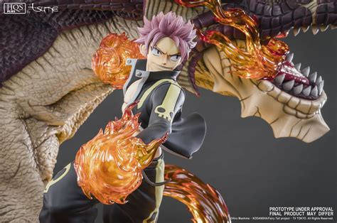 natsu dragon slayer tsume art vos statues de collection