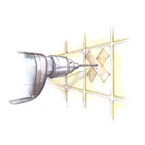Drill Through Ceramic Tile Without Cracking by 14 Drill Through Tile Without Cracking It 47 Skills You