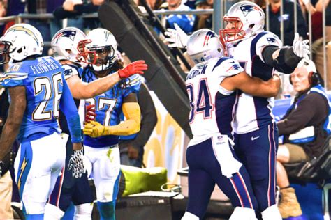 New England Patriots Vs. San Diego Chargers