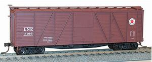 Image result for kadee couplers on a g gauge box car with the  guage