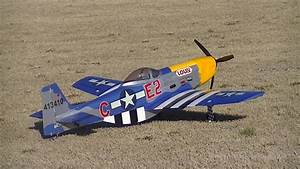 File P-51 Large Scale Electric Rc Airplane Jpg