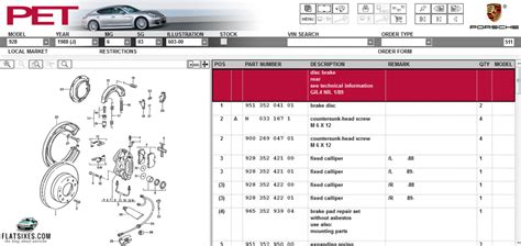 Porsche Parts by A Guide To The Meaning Porsche S Part Numbers