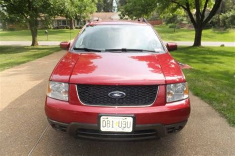 accident recorder 2007 ford freestyle parking system find used 2007 ford freestyle sel wagon 4 door 3 0l in saint louis missouri united states for