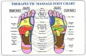 Chinese Foot Reflexology Chart