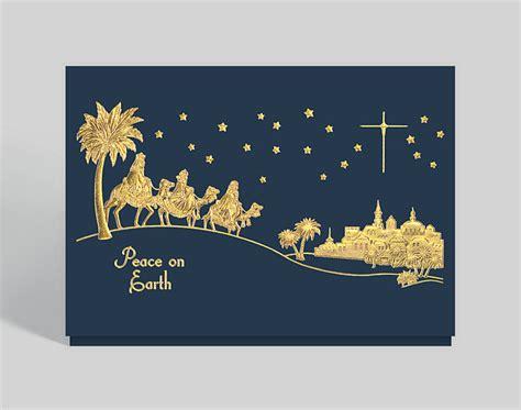 holy night christmas card  business christmas