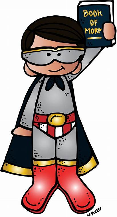 Lds Melonheadz Primary Clipart Boy Superhero Illustrating