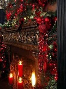 Christmas Mantels on Pinterest