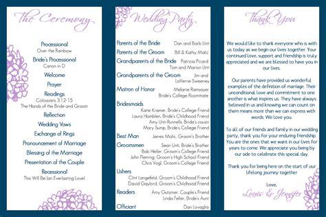 wedding program trifold fairy tale wedding pinterest