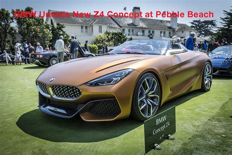 Bmw Z4 Concept Car Is An All-out Car For Purists