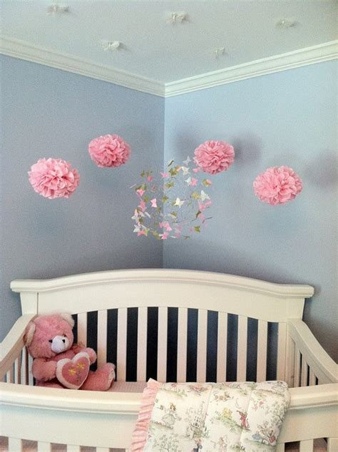 nursery decor with butterfly mobiles modern nursery