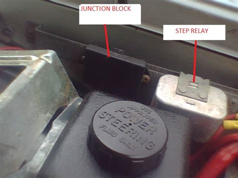 voltage drop  fuel pump relay  key  volvo forums