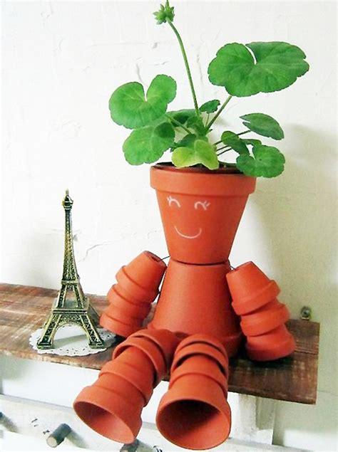 diy clay pot flower people  owner builder network