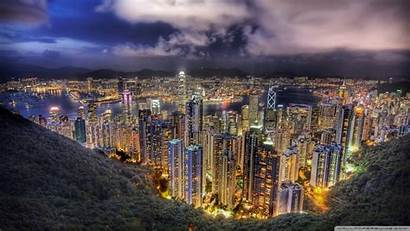 Hdr Wallpapers Cityscape Cave