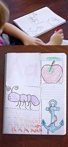 Alphabet interactive notebook a pre kindergarten for Alphabet letter notebook