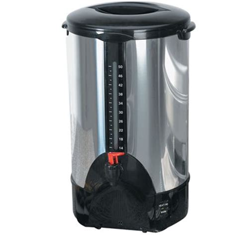 Some 4 cup coffee makers have a very sleek, modern look, while others just look like smaller versions of traditional machines. CONTINENTAL PS77951 50 Cup Coffee Maker - Walmart.com - Walmart.com