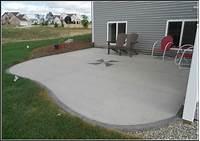 magnificent cement patio design ideas Magnificent Basic Concrete Patio Design Ideas - Patio Design #281