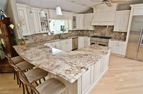 Typhoon Bordeaux Granite Countertops - designing into your home
