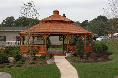 gazebo wooden large wood gazebos country gazebos