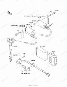 Kawasaki Motorcycle 2004 Oem Parts Diagram For Ignition System