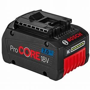 Bosch Pro 18v : bosch blue 18v 7 0ah professional procore battery ~ Carolinahurricanesstore.com Idées de Décoration