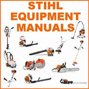 Stihl Equipment Repair Service Parts Manual Collection